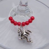 Dragon Wine Glass Charms